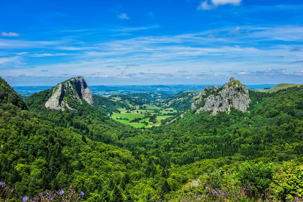 Weinberg von Auvergne